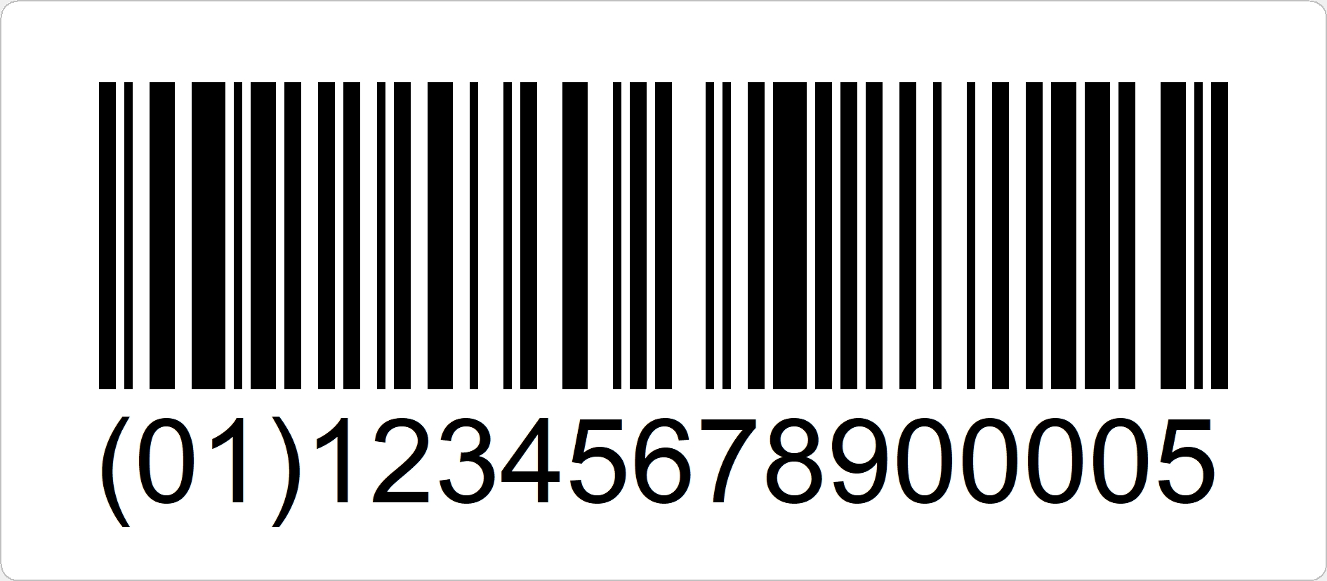 EAN128 ist ein Logistikcode für den Handel