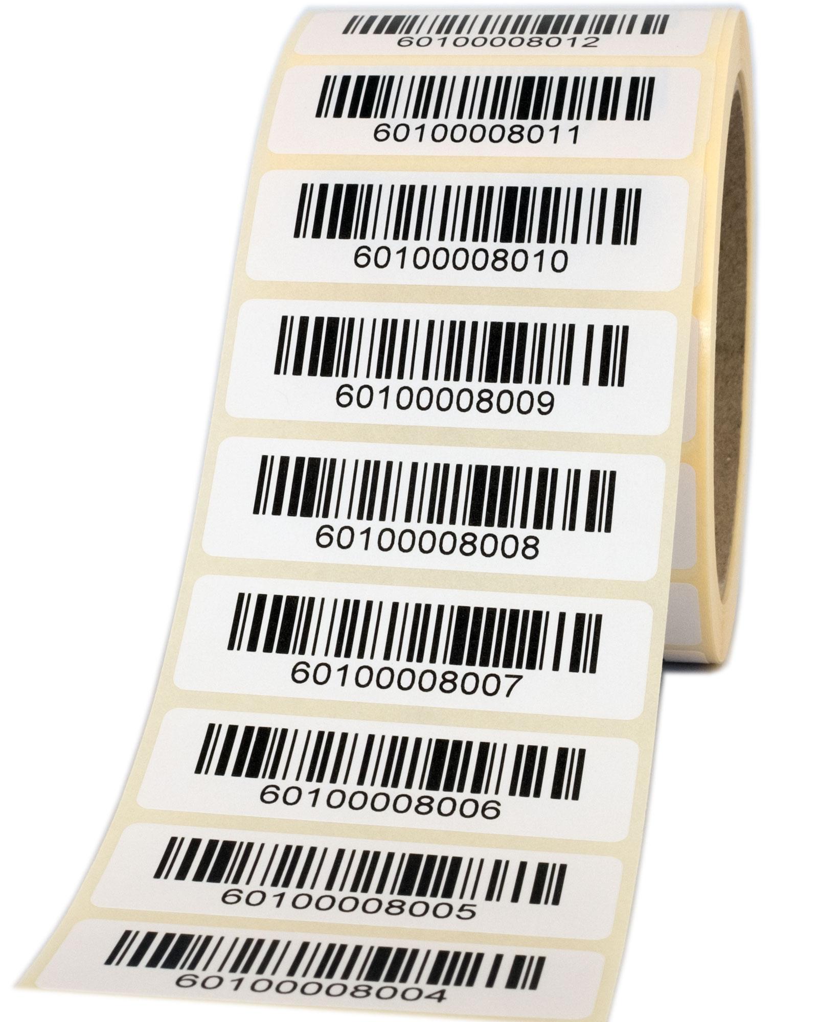 Barcode-Papieretiketten
