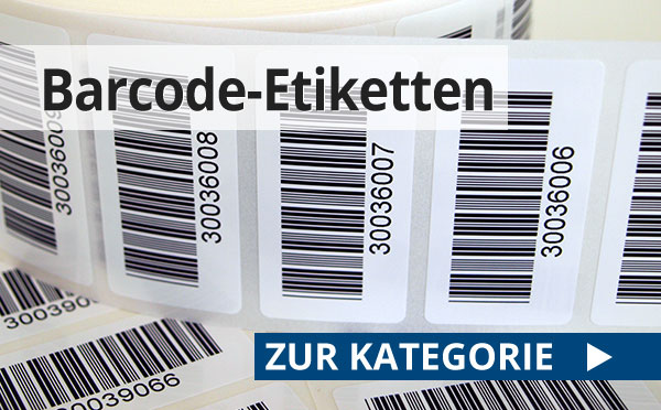 Barcode-Etiketten günstig nach Ihren Vorgaben