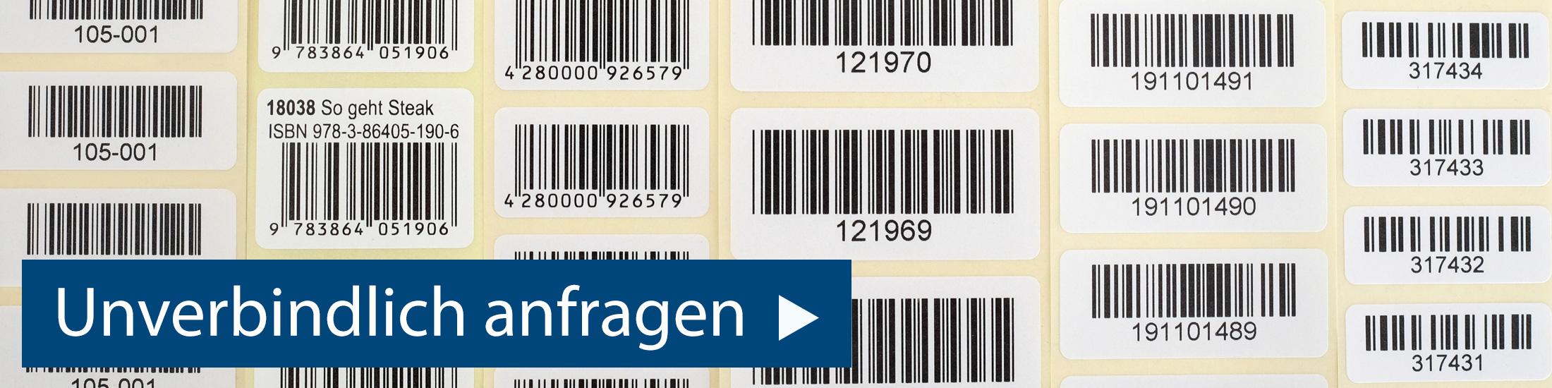Barcodeetiketten anfragen